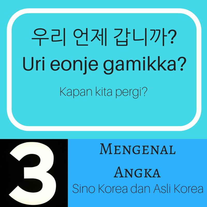 Mengenal Angka dan Bilangan dalam Bahasa Korea