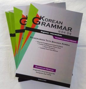 Buku bahasa korea tata bahasa