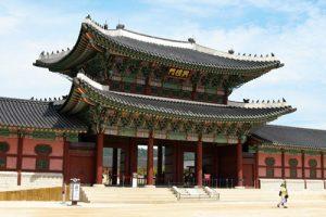 tempat wisata di Korea Istana Gyeongbokgung