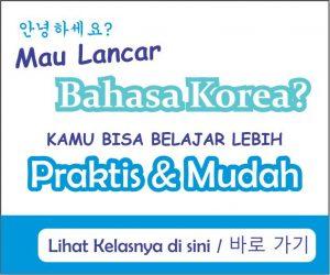 Info kursus bahasa korea