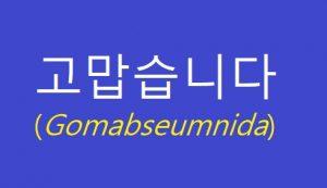 Gomabseumnida