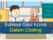 bahasa gaul korea chating