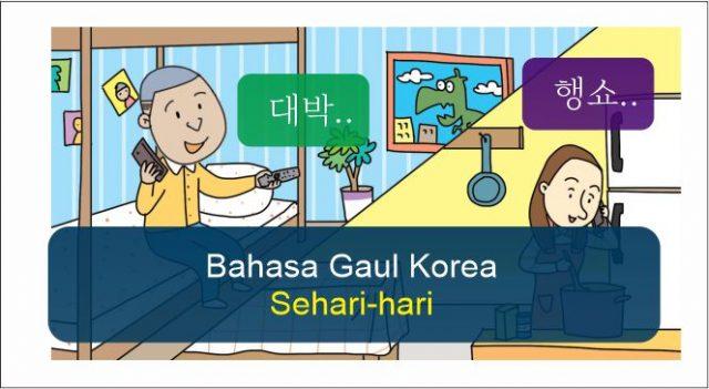 bahasa gaul korea sehari-hari