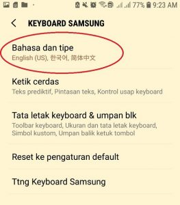 5 keyboard