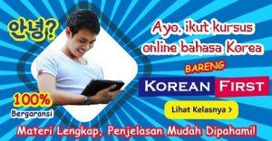 kursus bahasa korea murah