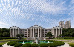 Kyung Hee University kampus terbaik korea