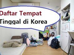 daftar tempat tinggal di korea