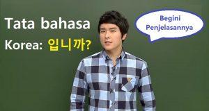 tata bahasa korea bertanya imnika