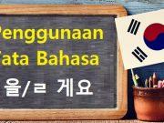 tata bahasa korea eulkeyo