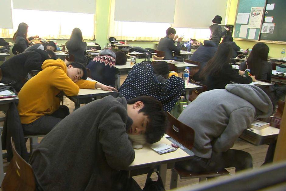 40 Persen Pelajar SMA di Korea Tidak Tidur Cukup