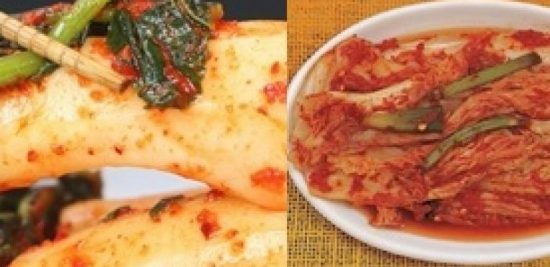 jenis kimchi korea