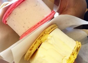 Penguin Macaron ice cream