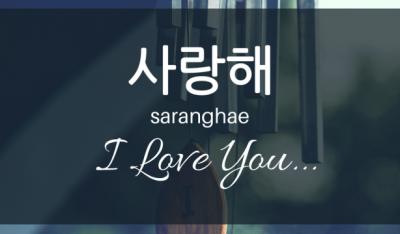 kata kata sayang dalam bahasa korea dan artinya