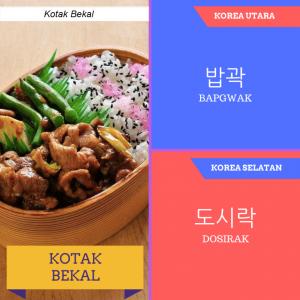 bedanya bahasa korea kotak bekal