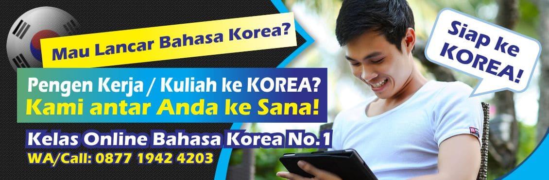 Kursus Bahasa Korea Terbaik