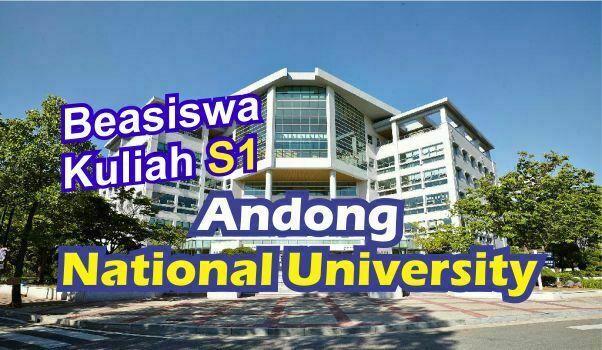 beasiswa S1 Andong University