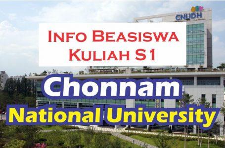 beasiswa S1 Chonnam University