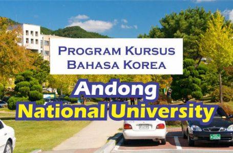 kursus bahasa Korea di Andong University