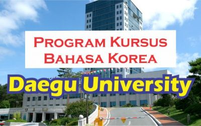 kursus bahasa Korea di Daegu University