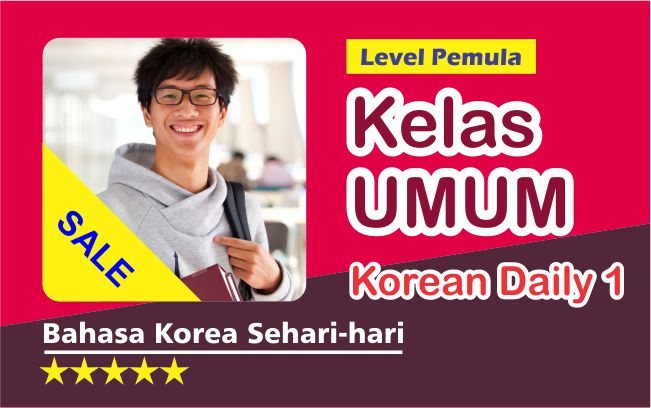 Kelas Korean Daily 1
