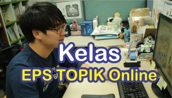 kelas EPS TOPIK online Korean First