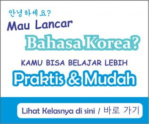 Info kursus online bahasa Korea