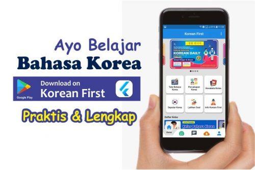 ayo belajar bahasa korea di korean first kursus bahasa korea online praktis dan lengkap