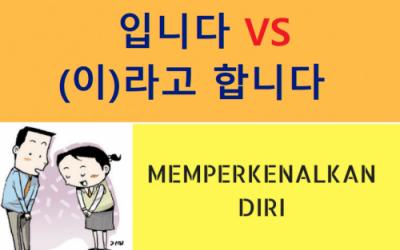 memperkenalkan diri dalam bahasa Korea