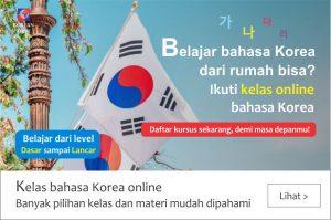 Belajar bahasa Korea Online gratis