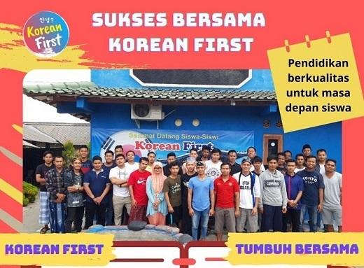foto belajar Korean First